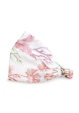 Bambusová elastická čelenka pro dívky - Flóra