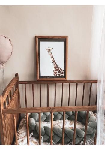 Dětský dekorační plakát se žirafou
