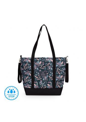 Nákupná taška - tajná záhrada/ružová