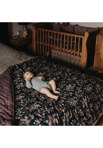 Sametová teplá deka z kolekce mlhavé ráno