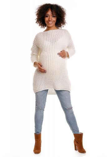 Tmavomodrá tunika pre tehotné