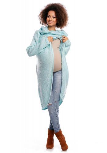 Tehotenská smotanová tunika pre tehotné