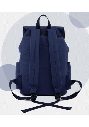 Čierny športový ruksak s rukoväťou
