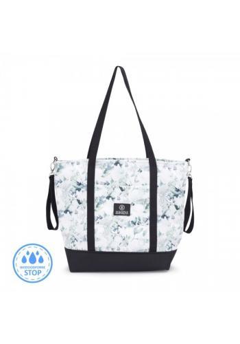 Nákupná taška - šalvia zelená