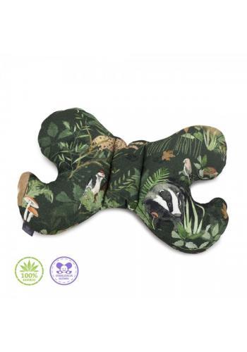 Vankúš motýľ s potlačou zvierat - 100% Bambus