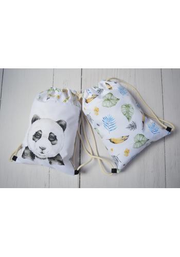 Detské vrecko s obrázkom pandy