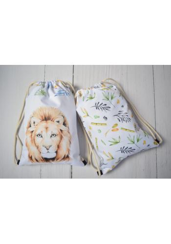 Dětské voděodolná kapsa s obrázkem lva