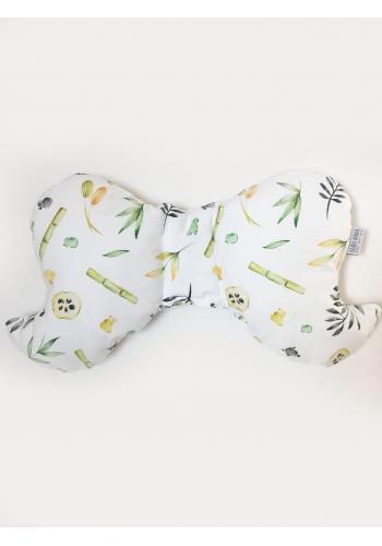 Dětský bavlněný polštář motýl - s kolekce panda