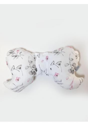 Dětský bavlněný polštář motýl - s kolekce králík
