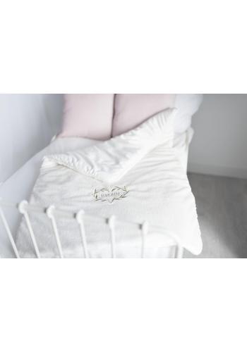 Smetanová zimní deka s výšivkou Qbana Mama