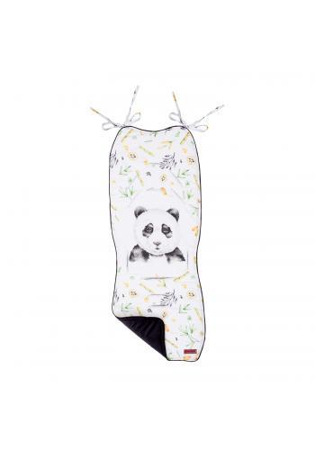 Dětská měkká vložka do kočárku s obrázkem pandy