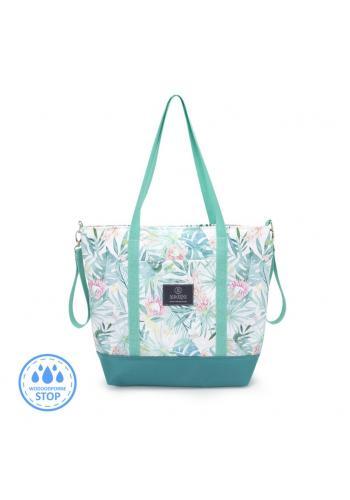 Nákupní taška s tropickým motivem