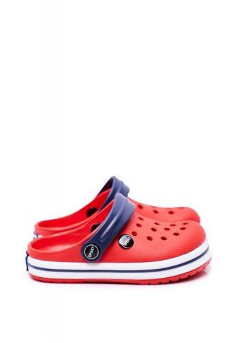 Gumové kroksy pro děti v červené barvě