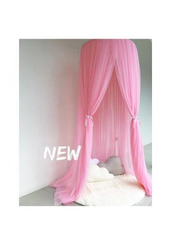 Neonově růžový týlní baldachýn pro děti