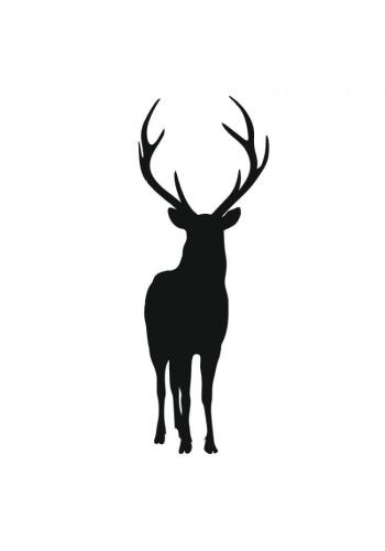 Nálepka na zeď s motivem jelena