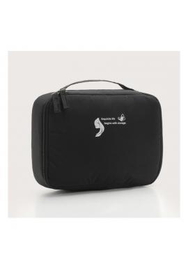 Dámská kosmetická taška v černé barvě