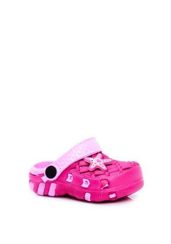 Růžové kroksy pro dívky