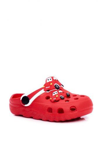 Červené chlapecké kroksy s McQeena