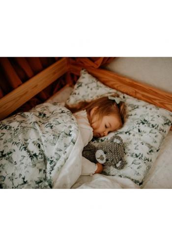 Dětská souprava přikrývka + polštář s bylinkovým motivem