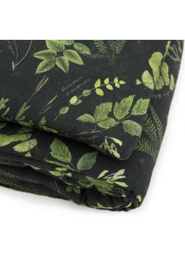 Sada na spaní s bylinkovým motivem - 100% bambus