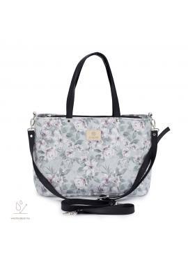 Příruční taška na kočárek s vintage květy