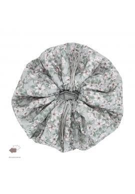 Oboustranná podložka na hraní s vintage květy