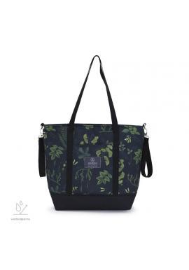Nákupní taška s bylinkovým motivem