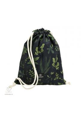Voděodolná kapsa s bylinkovým motivem