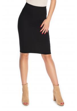 Elegantná puzdrová sukňa pre dámy v čiernej farbe