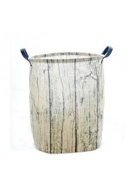 Koš na hračky nebo prádlo s motivem dřeva