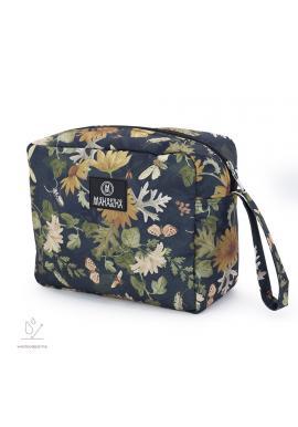 Voděodolný kosmetický kufřík s motivem přírody