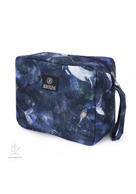 Voděodolný kosmetický kufřík s motivem magického lesa