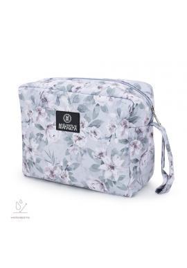 Voděodolný kosmetický kufřík s vintage květy