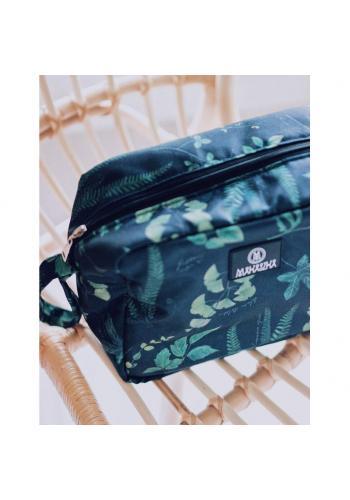 Voděodolný kosmetický kufřík s motivem bylinek