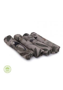 Bambusové plenky s motivem opic