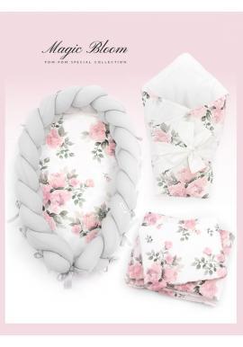 Výbava pro novorozence 4v1 - magické květiny