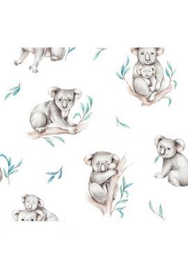 Dětský 100% bambusový polštář s motivem koaly