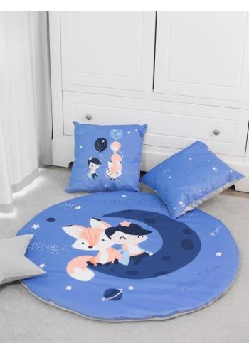 Sada dvou ozdobných dětských polštářů - malý princ