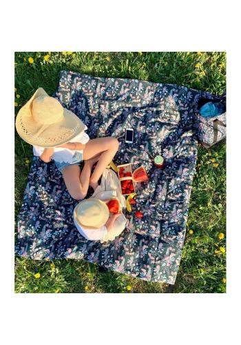 Pikniková deka s motivem opic