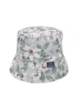 Dětský bavlněný klobouk s vintage květy