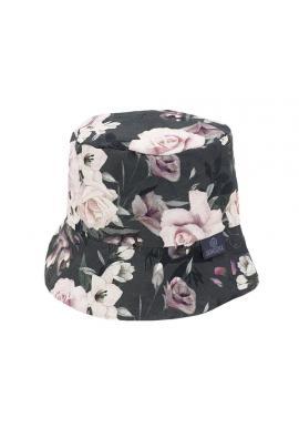 Dětský bavlněný klobouk s motivem nočních květů