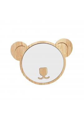 Dřevěná suchostíratelná tabule v podobě koaly pro děti