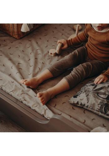 Dětské prostěradlo na postel s gumkou s motivem ornitologie