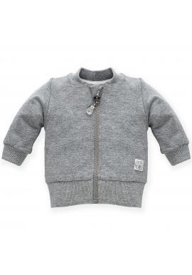 Stylová dětská mikina v šedé barvě