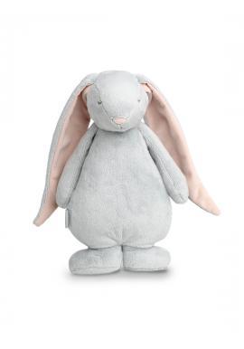 Světle šedý svítící králík MOONIE se šumivým efektem