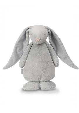 Svítící králík MOONIE se šumivým efektem v šedé barvě