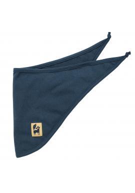 Stylový dětský šátek v tmavě modré barvě