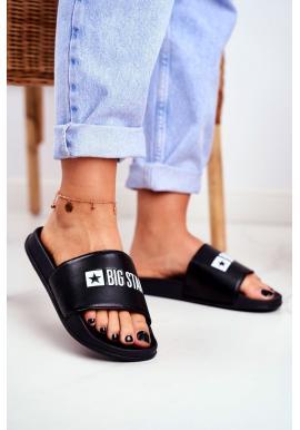Klasické pantofle Big Star v černé barvě pro dámy