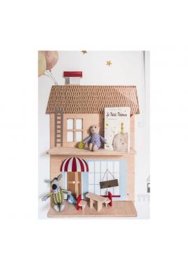 Dětská dřevěná polička - Můj domeček