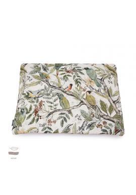 Malý sametový polštář pro děti s motivem ornitologie